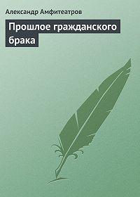 Александр Амфитеатров -Прошлое гражданского брака