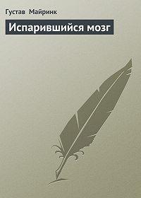 Густав  Майринк -Испарившийся мозг