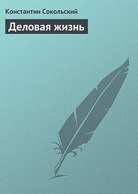 Константин Сокольский -Деловая жизнь