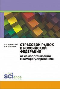Денис Брызгалов -Страховой рынок в Российской Федерации. От самоорганизации к саморегулированию. Монография