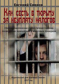 Евгений Сивков -Как сесть в тюрьму за неуплату налогов