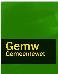 Nederland - Gemeentewet – Gemw