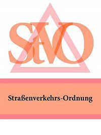 Deutschland - Straßenverkehrs-Ordnung – StVO