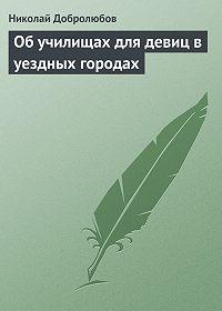 Николай Добролюбов - Об училищах для девиц в уездных городах