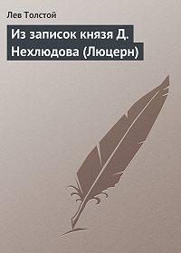 Лев Толстой - Из записок князя Д.Нехлюдова (Люцерн)
