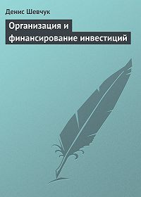 Денис Шевчук - Организация и финансирование инвестиций
