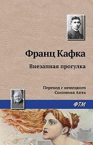 Франц Кафка - Внезапная прогулка