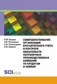 Татьяна Рогуленко -Совершенствование организации бухгалтерского учета и контроля обязательств непубличных производственных компаний по кредитам и займам