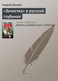 Андрей Дышев - «Зачистка» в русской глубинке