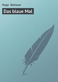 Hugo Bettauer -Das blaue Mal
