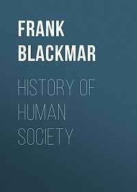 Frank Blackmar -History of Human Society