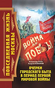 Владимир Руга -Повседневная жизнь Москвы. Очерки городского быта в период Первой мировой войны