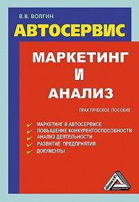 Владислав Волгин -Автосервис. Маркетинг и анализ: Практическое пособие