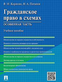 Виктор Корякин -Гражданское право в схемах. Особенная часть. Учебное пособие
