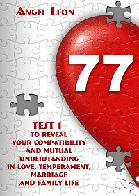 Leon Angel -Test1 toreveal your compatibility andmutual understanding inlove, temperament, marriage andfamily life