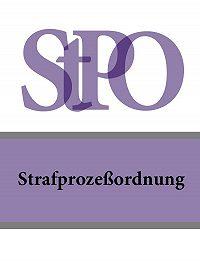 Deutschland -Strafprozeßordnung – StPO