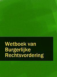 Nederland -Wetboek van Burgerlijke Rechtsvordering