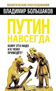 Владимир Большаков -Путин навсегда. Кому это надо и к чему приведет?