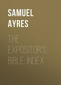 Samuel Ayres -The Expositor's Bible: Index