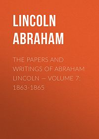 Abraham Lincoln -The Papers And Writings Of Abraham Lincoln – Volume 7: 1863-1865