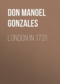Manoel Gonzales -London in 1731