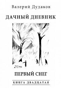 Валерий Дудаков -Дачный дневник. Первый снег