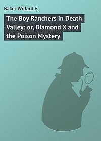Willard Baker -The Boy Ranchers in Death Valley: or, Diamond X and the Poison Mystery