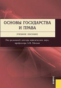 Коллектив Авторов -Основы государства и права