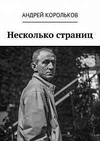 Андрей Корольков - Несколько страниц