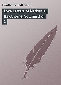 Nathaniel Hawthorne -Love Letters of Nathaniel Hawthorne. Volume 2 of 2