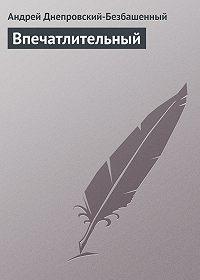Андрей Днепровский-Безбашенный -Впечатлительный