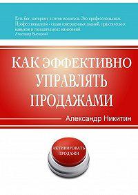 Александр Никитин -Как эффективно управлять продажами