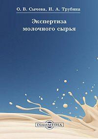 Ольга Сычева -Экспертиза молочного сырья