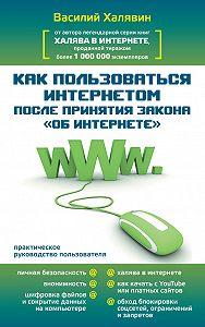 Василий Халявин -Как пользоваться Интернетом после принятия закона «Об Интернете»