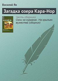 Василий Ян - Загадка озера Кара-Нор