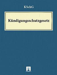 Deutschland -Kündigungsschutzgesetz – KSchG