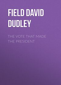 David Field -The Vote That Made the President