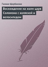 Галина Щербакова -Восхождение на холм царя Соломона с коляской и велосипедом