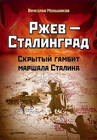 Вячеслав Меньшиков - Ржев – Сталинград. Скрытый гамбит маршала Сталина
