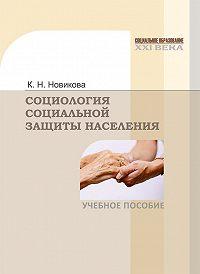 Клавдия Новикова - Социология социальной защиты населения