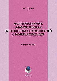 Юрий Александрович Лукаш -Формирование эффективных договорных отношений с контрагентами