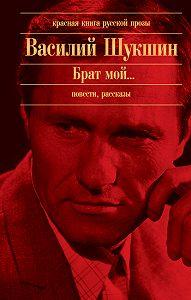 Василий Шукшин -В профиль и анфас