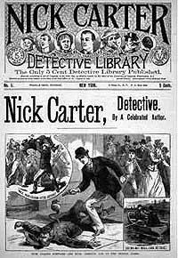 Ник Картер - Доктор Кварц – преступный ученый