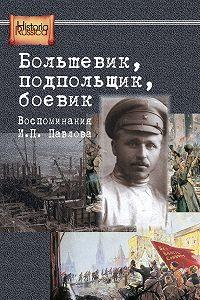 Е. Бурденков -Большевик, подпольщик, боевик. Воспоминания И. П. Павлова