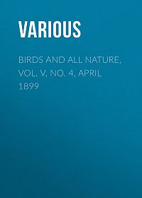 Various -Birds and All Nature, Vol. V, No. 4, April 1899
