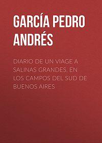 Pedro García -Diario de un viage a Salinas Grandes, en los campos del sud de Buenos Aires