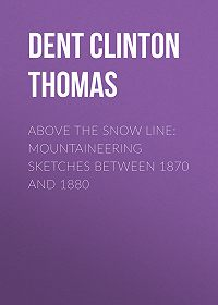 Clinton Dent -Above the Snow Line: Mountaineering Sketches Between 1870 and 1880