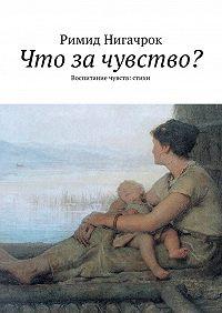 Римид Нигачрок - Что за чувство? Воспитание чувств: стихи