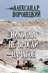 Александр Воронецкий -Никогда не бросай начатое