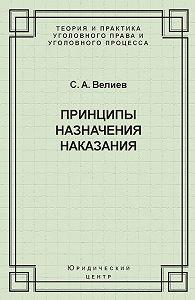 Самир Велиев -Принципы назначения наказания